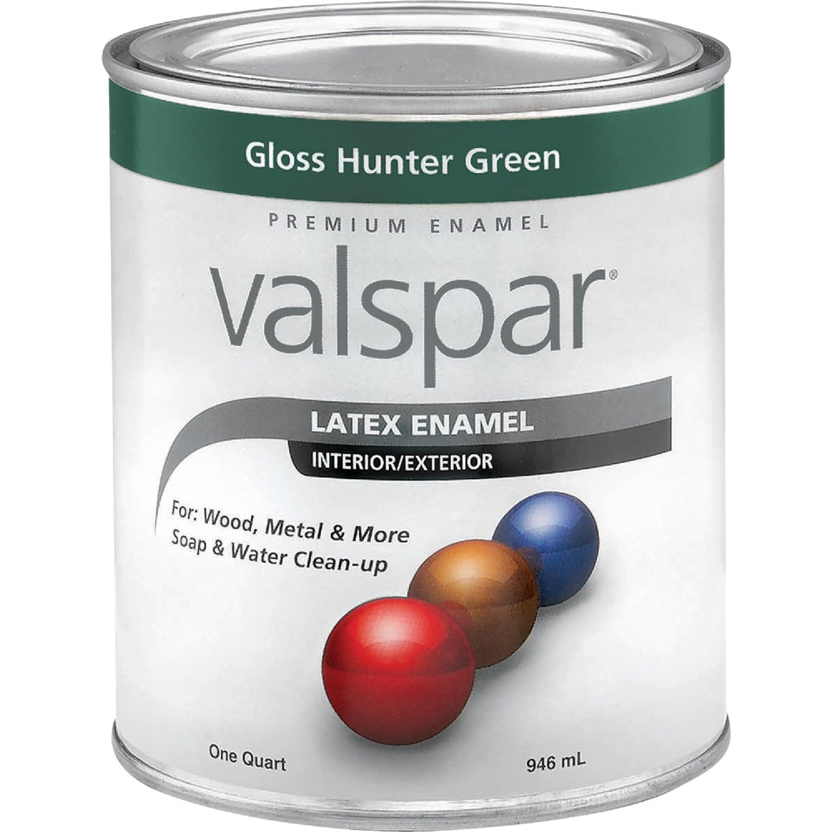 LTX HUNTER GREEN ENAMEL - 410.0065096.005 by Valspar Corp