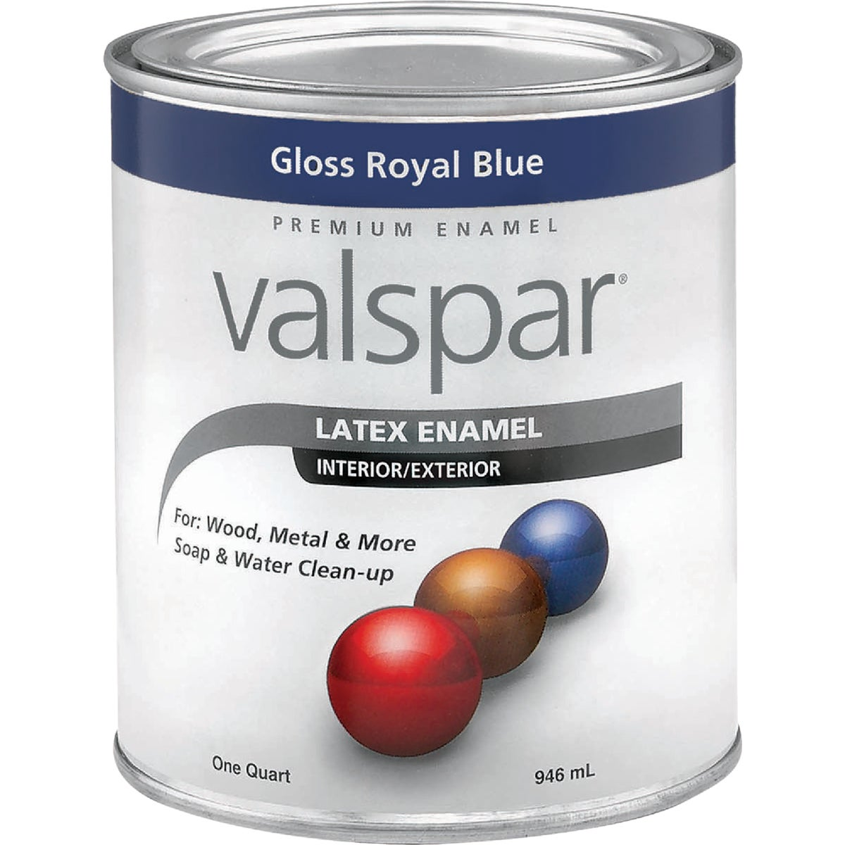LTX DARK BLUE ENAMEL - 410.0065031.005 by Valspar Corp
