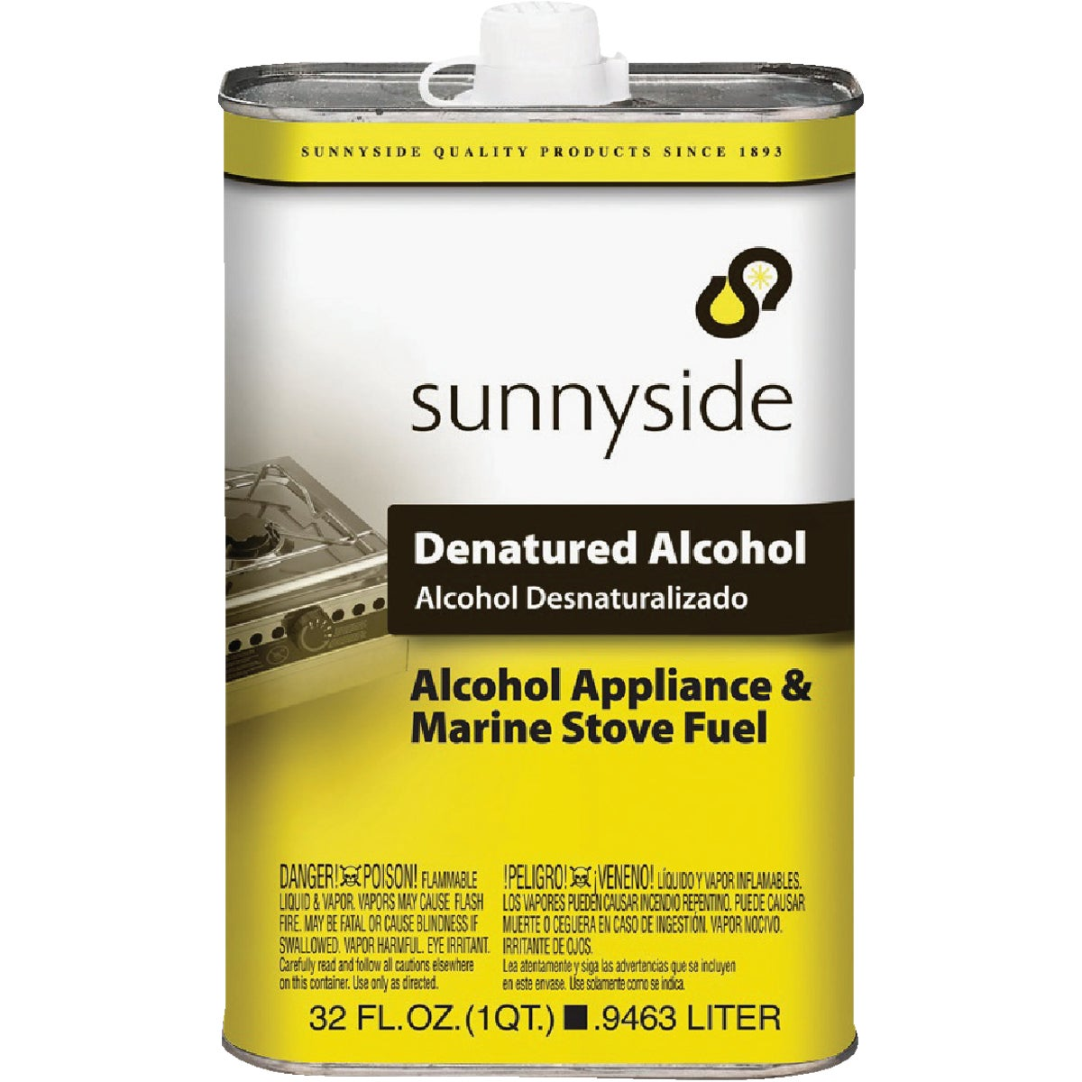 DENATURED ALCOHOL - 83432 by Sunnyside Corp