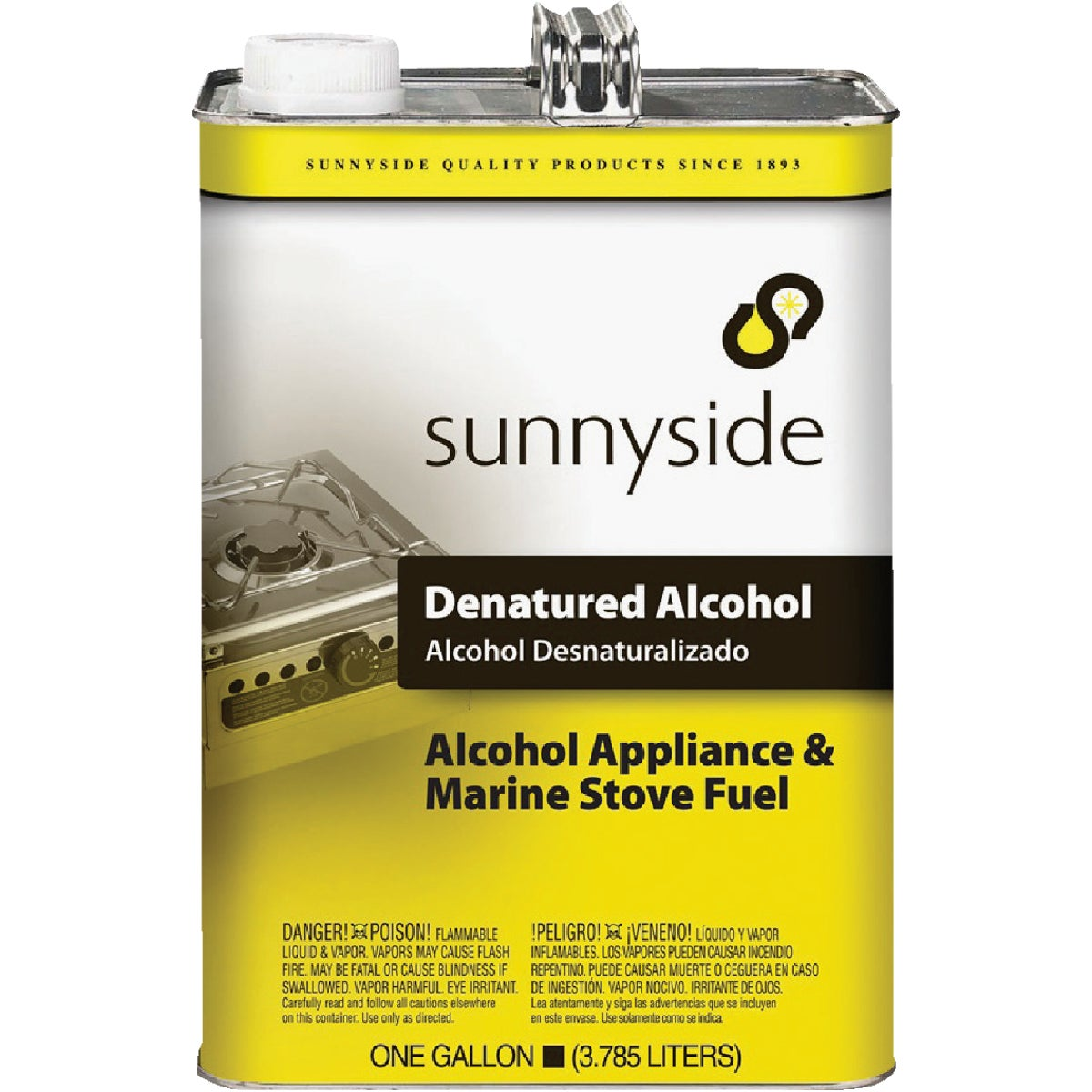 DENATURED ALCOHOL - 834G1 by Sunnyside Corp