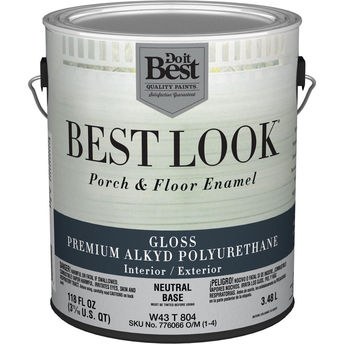 NEUT BS POLY FLOOR PAINT - W43T00804-16 by Do it Best