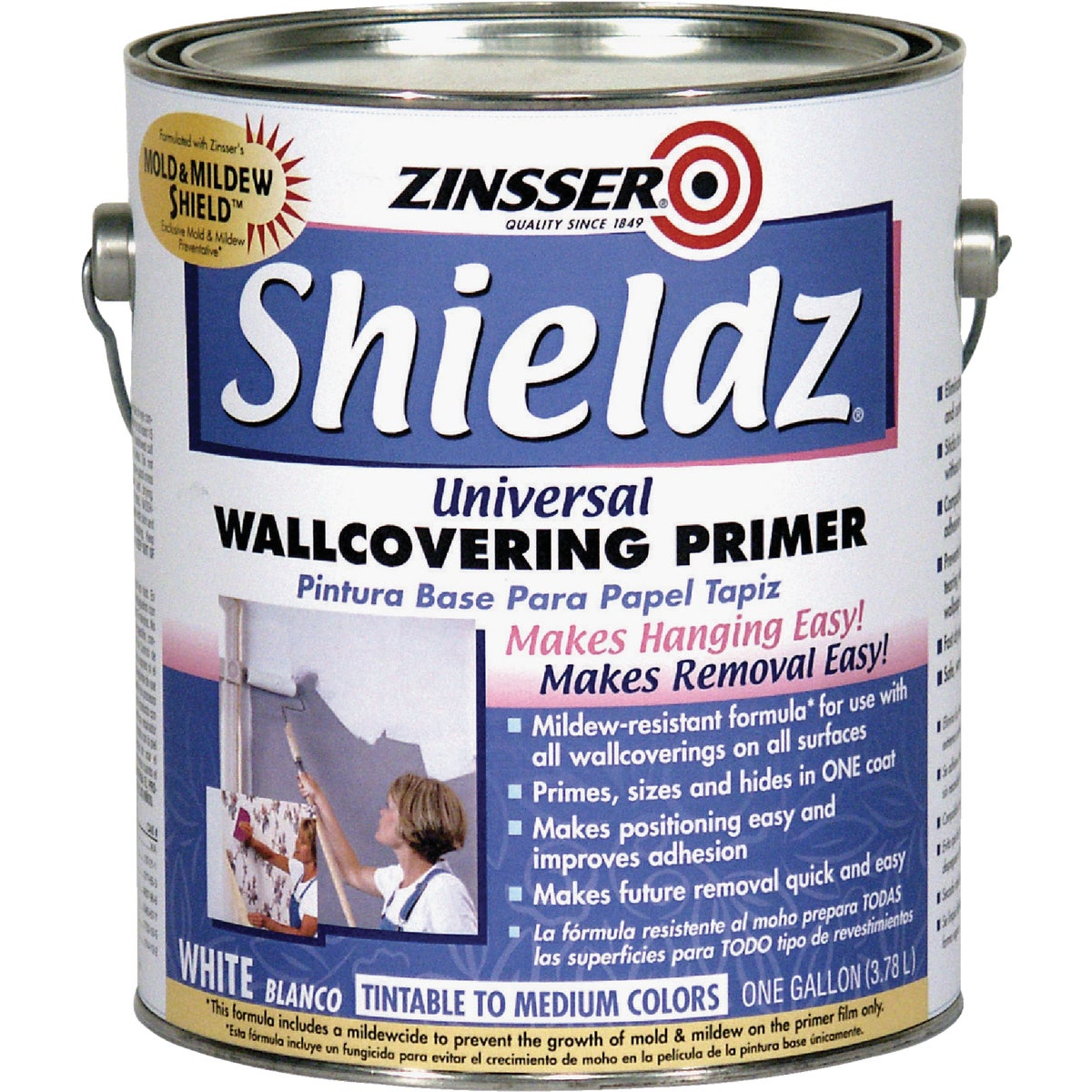 WHT LTX WALLPAPER PRIMER - 2501 by Rustoleum