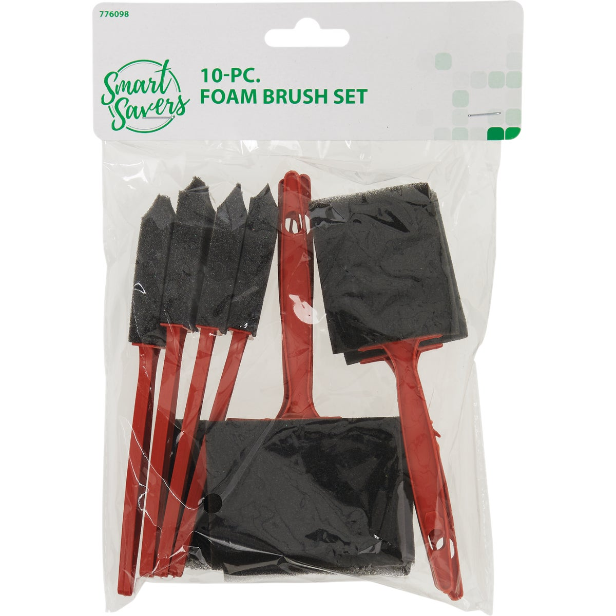 10PC FOAM BRUSH