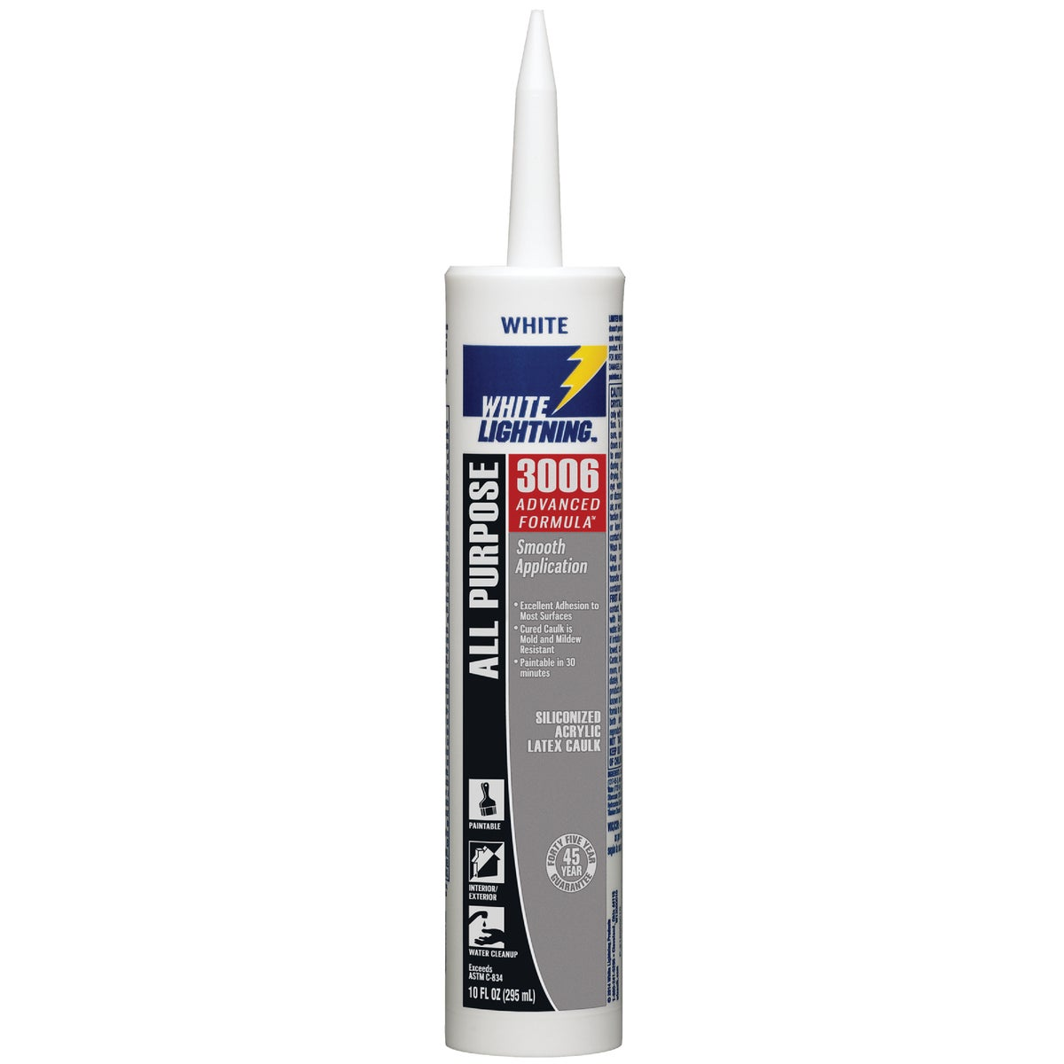 10OZ WHT LATEX CAULK