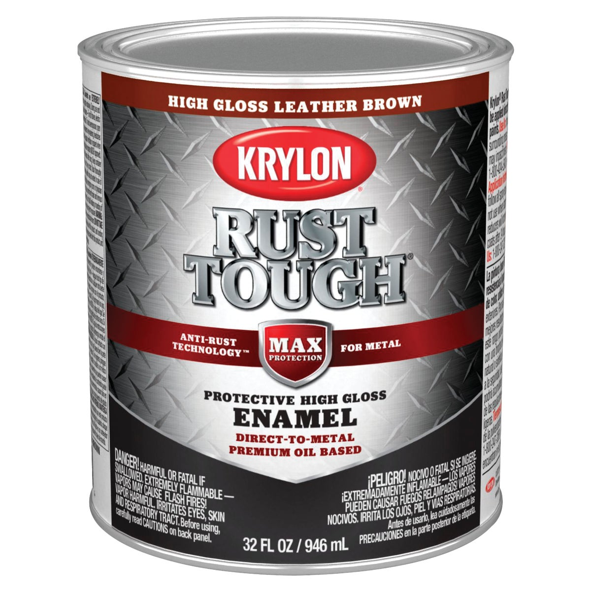 BROWN RUST ENAMEL - 044.0021833.005 by Valspar Corp