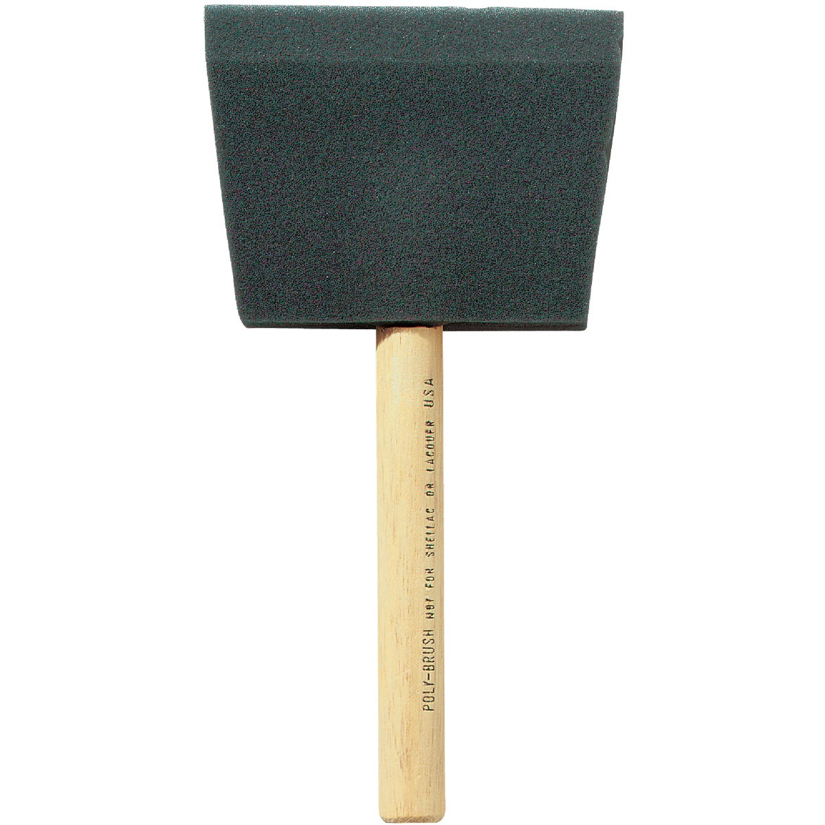 "4"" FOAM BRUSH - FOAM BRUSH by Jen Mfg Inc"