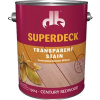 Duckback Prod. CENT REDWOOD TRANS STAIN DP1904-4