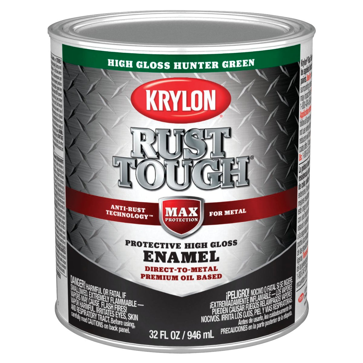 HUNTER GREEN RUST ENAMEL - 044.0021844.005 by Valspar Corp