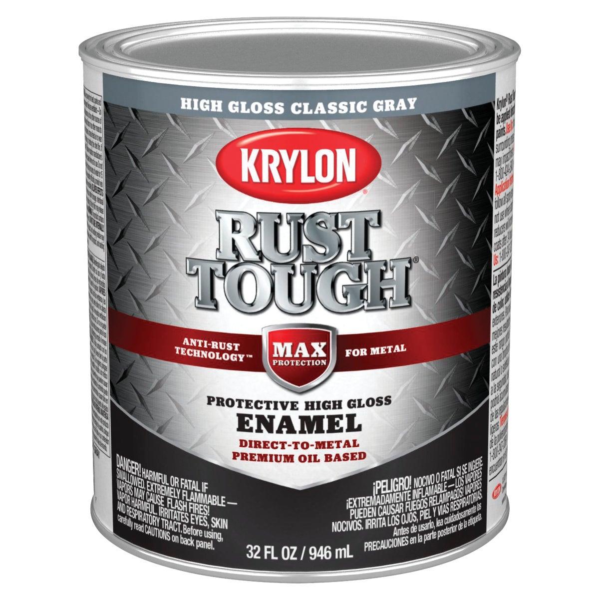Valspar GLOSS GRAY RUST ENAMEL 044.0021834.005