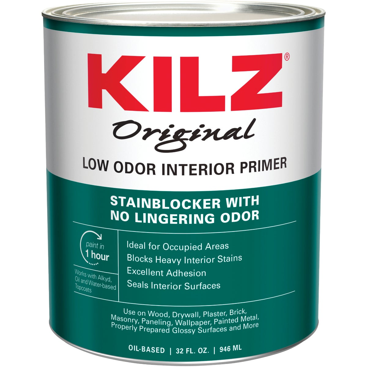 KILZ INT ODORLESS PRIMER - 10042 by Masterchem