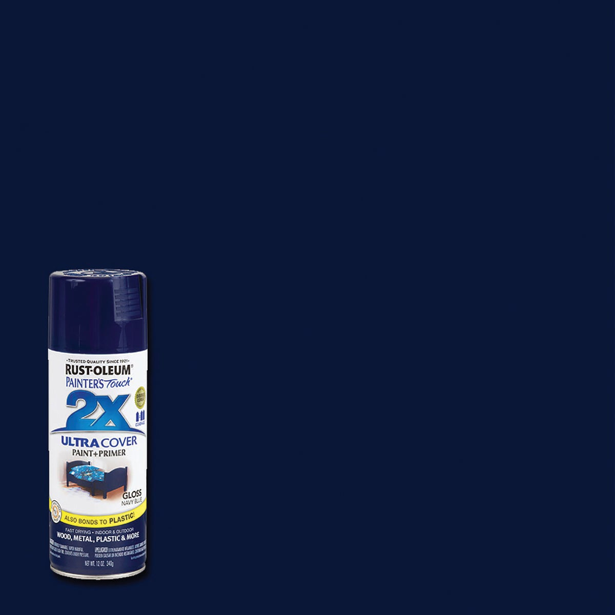 NAVY BLUE SPRAY PAINT - 249098 by Rustoleum