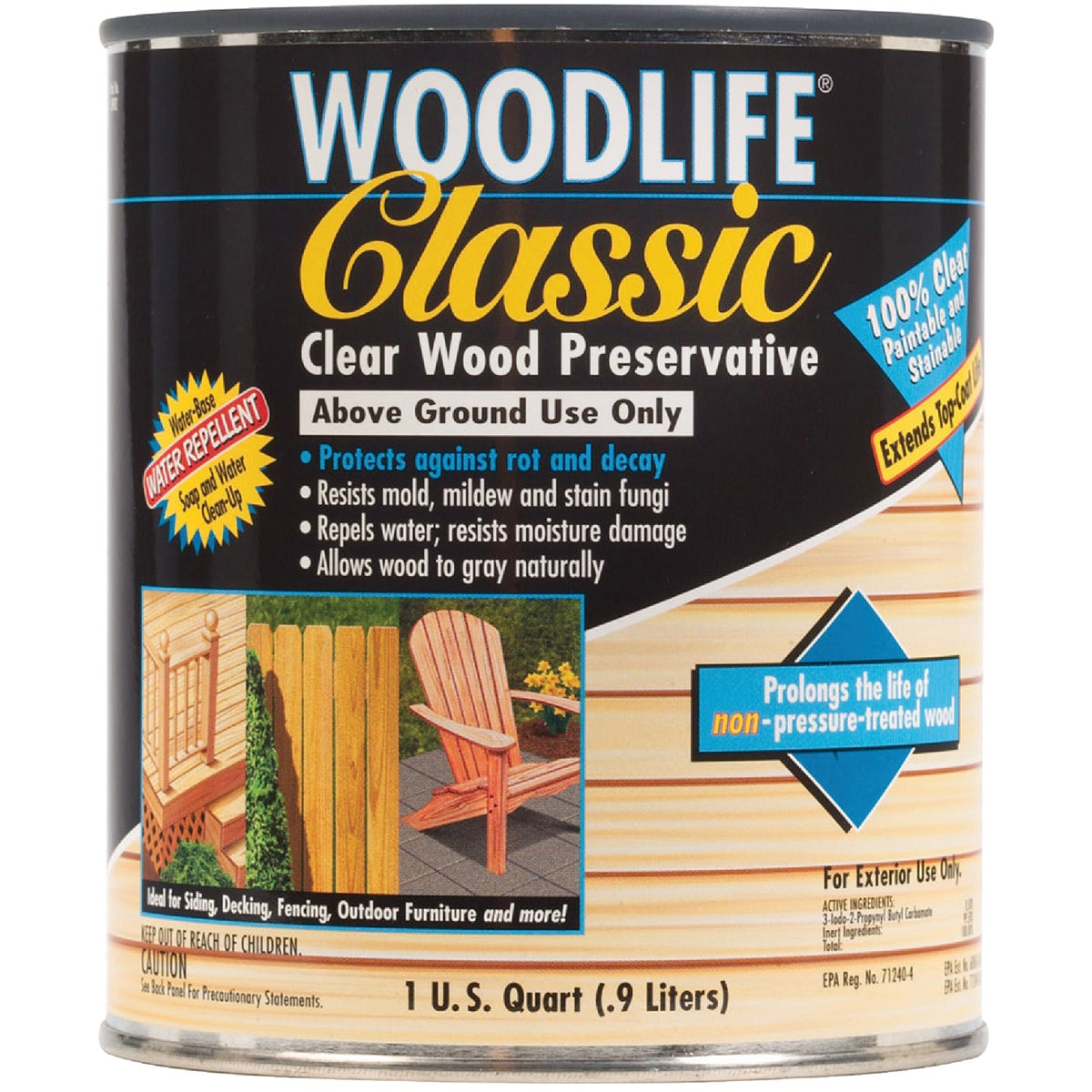 CLEAR WOOD PRESERVATIVE - 00902 by Rustoleum