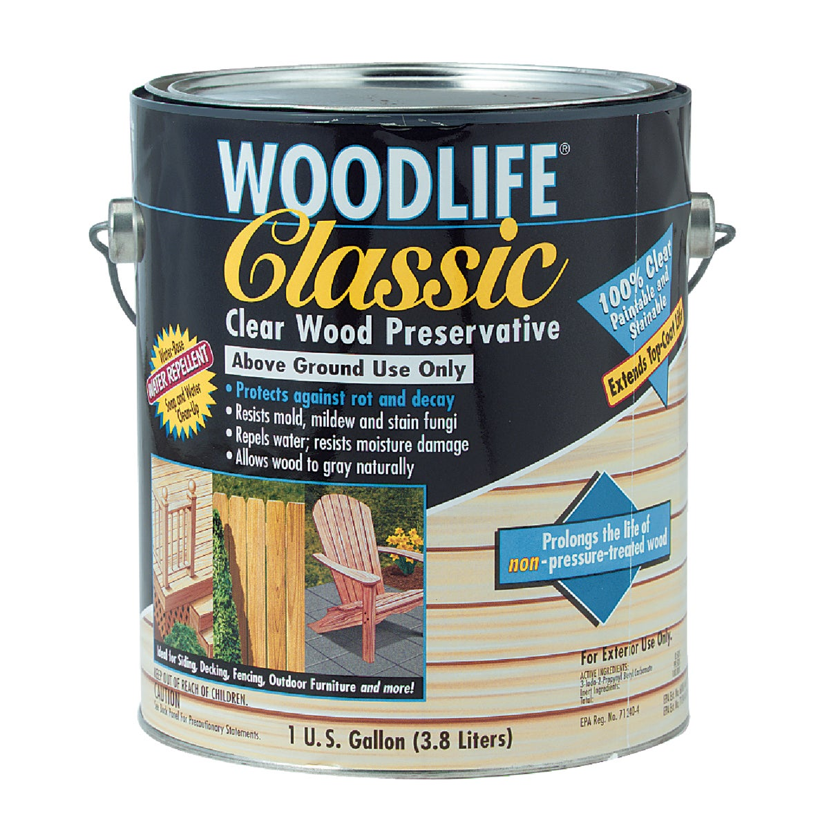 CLEAR WOOD PRESERVATIVE - 00903 by Rustoleum