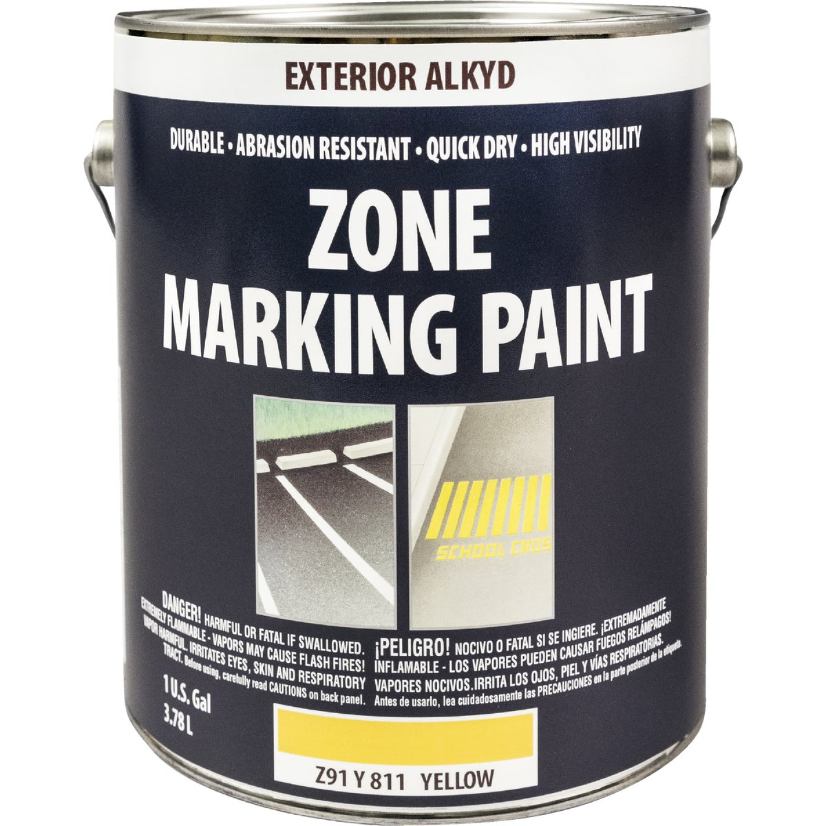 ALKYD YEL TRAFFIC PAINT