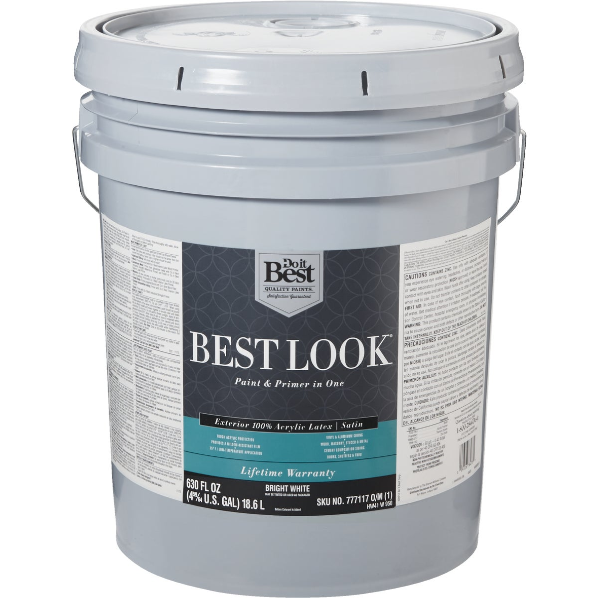 EXT SAT BRIGHT WHT PAINT - HW41W0950-20 by Do it Best