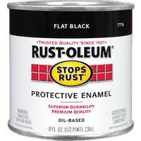 Rust Oleum FLAT BLACK ENAMEL 7776-730