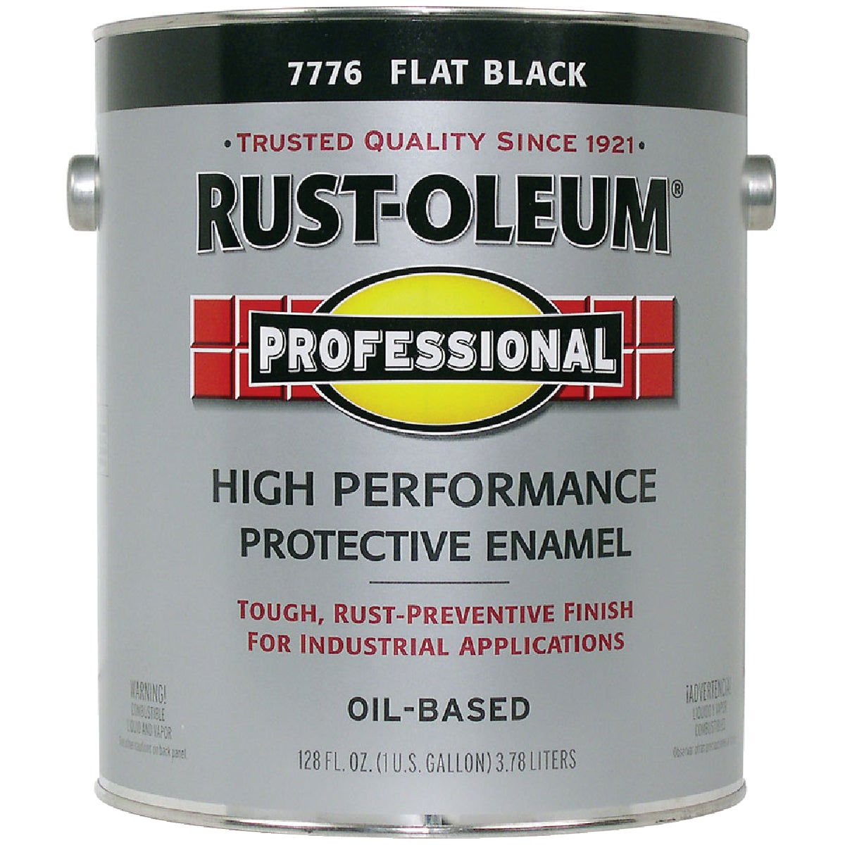 FLAT BLACK ENAMEL - 7776-402 by Rustoleum