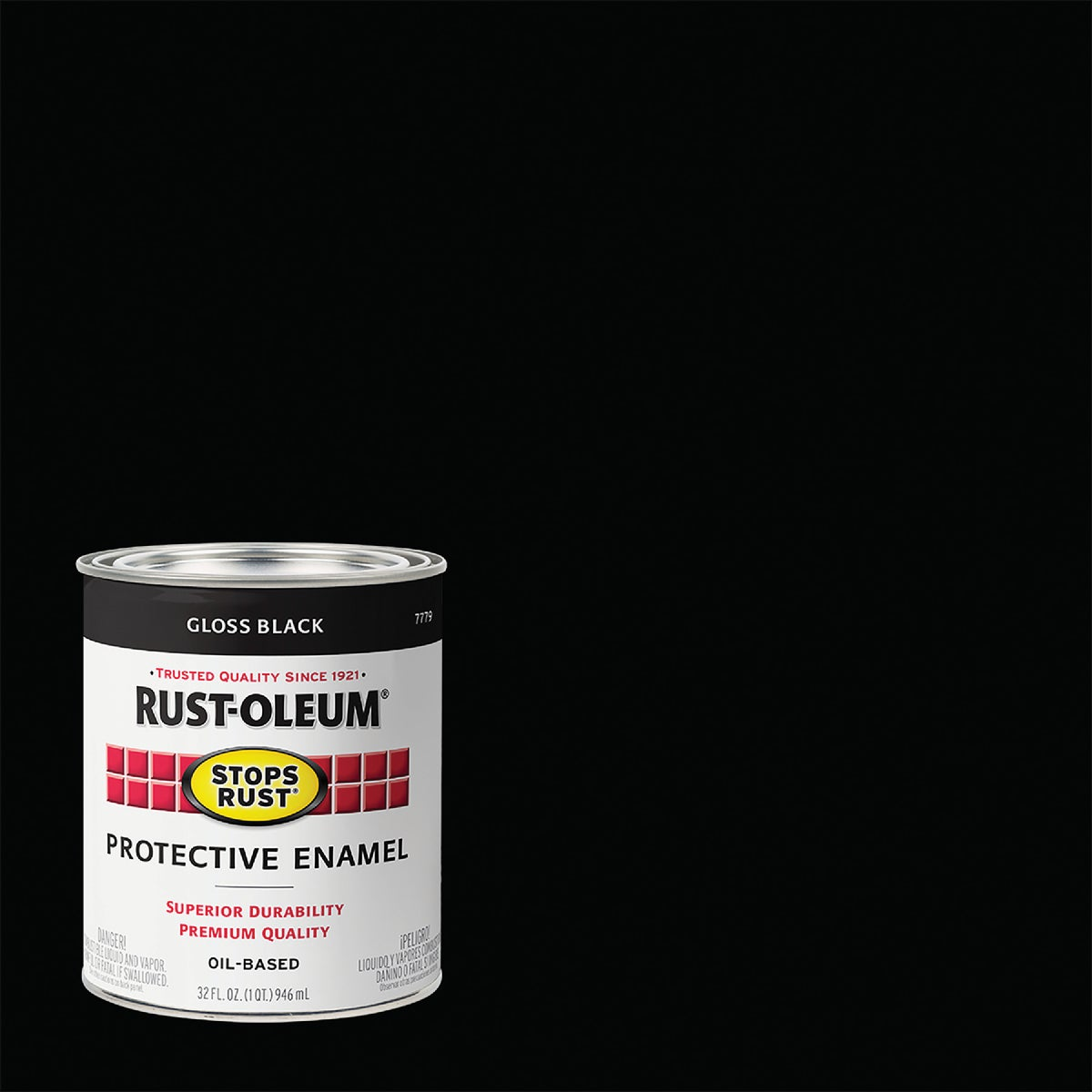 BLACK ENAMEL - 7779-504 by Rustoleum