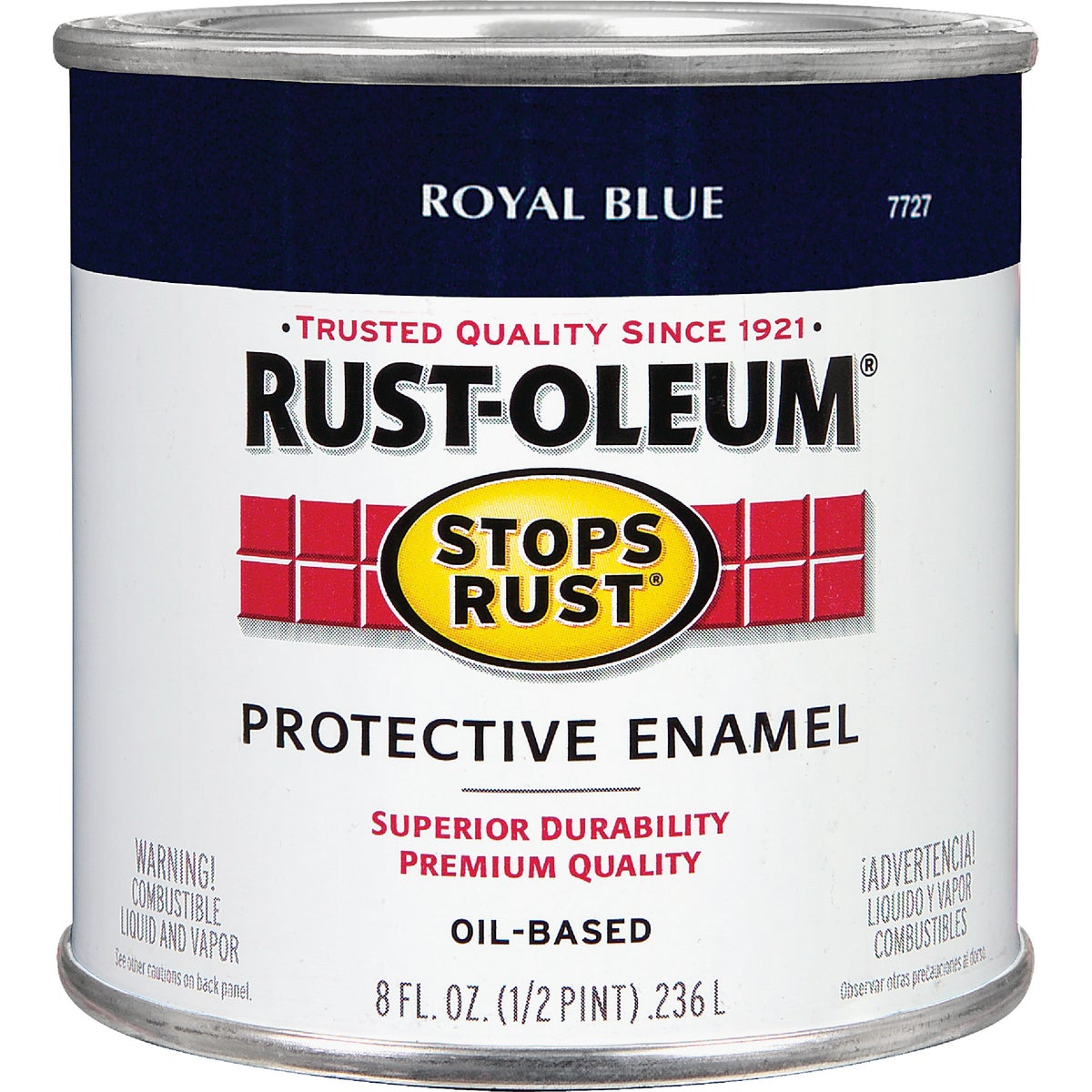 Rust Oleum ROYAL BLUE ENAMEL 7727-730