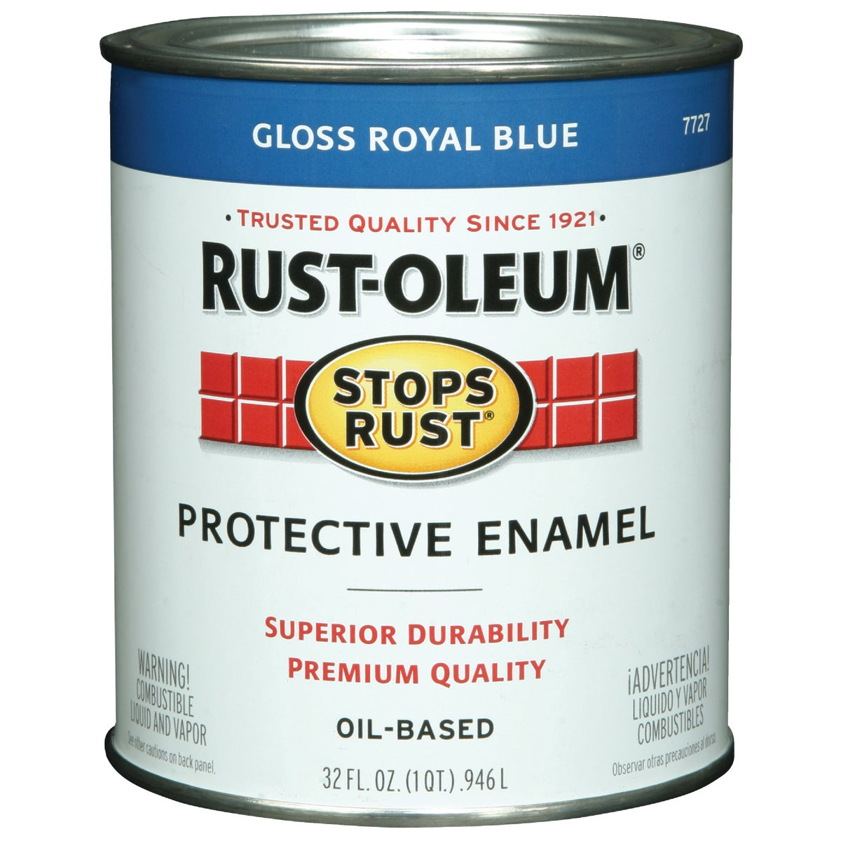 ROYAL BLUE ENAMEL - 7727-502 by Rustoleum
