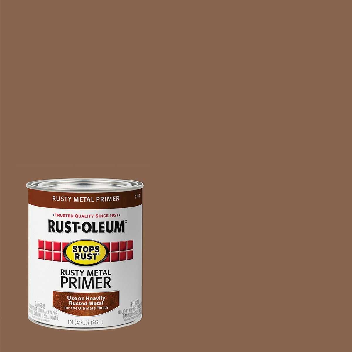 RED RUSTY METAL PRIMER - 7769-502 by Rustoleum