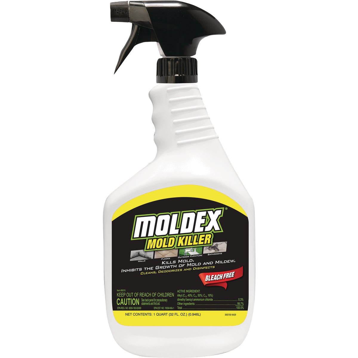 MOLDX SPRAY DISINFECTANT - 5010 by Envirocare Corp