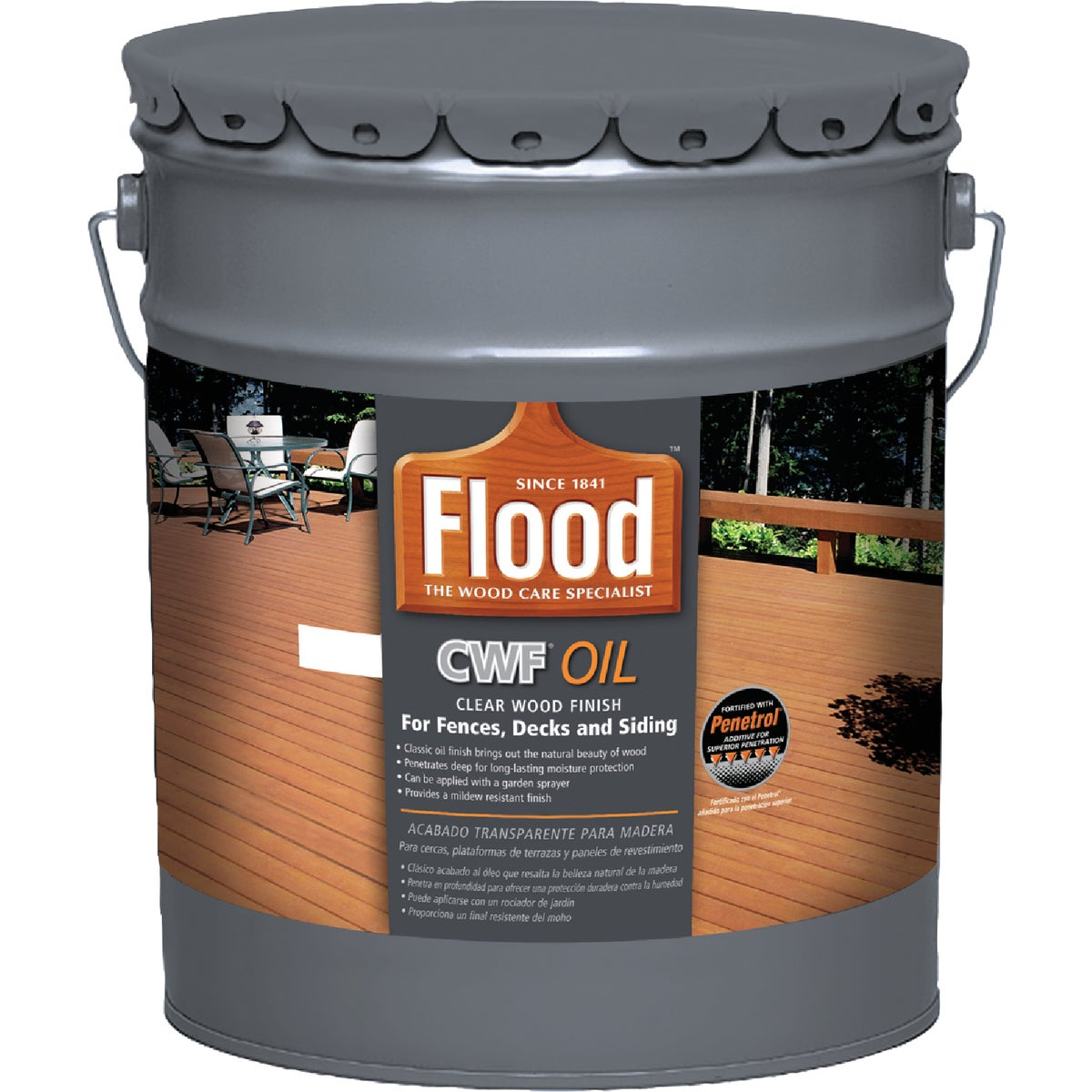 CWF CLEAR WOOD FINISH - FLD447 05 by Akzo Nobel Coatings
