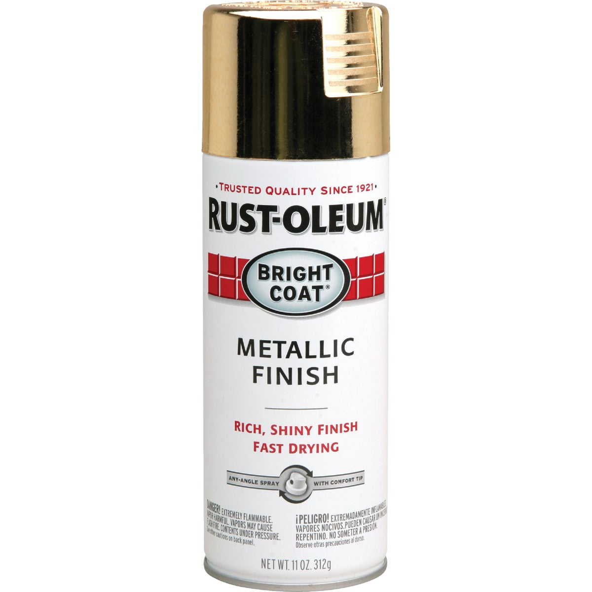 GOLD MTLC SPRAY PAINT - 7710-830 by Rustoleum
