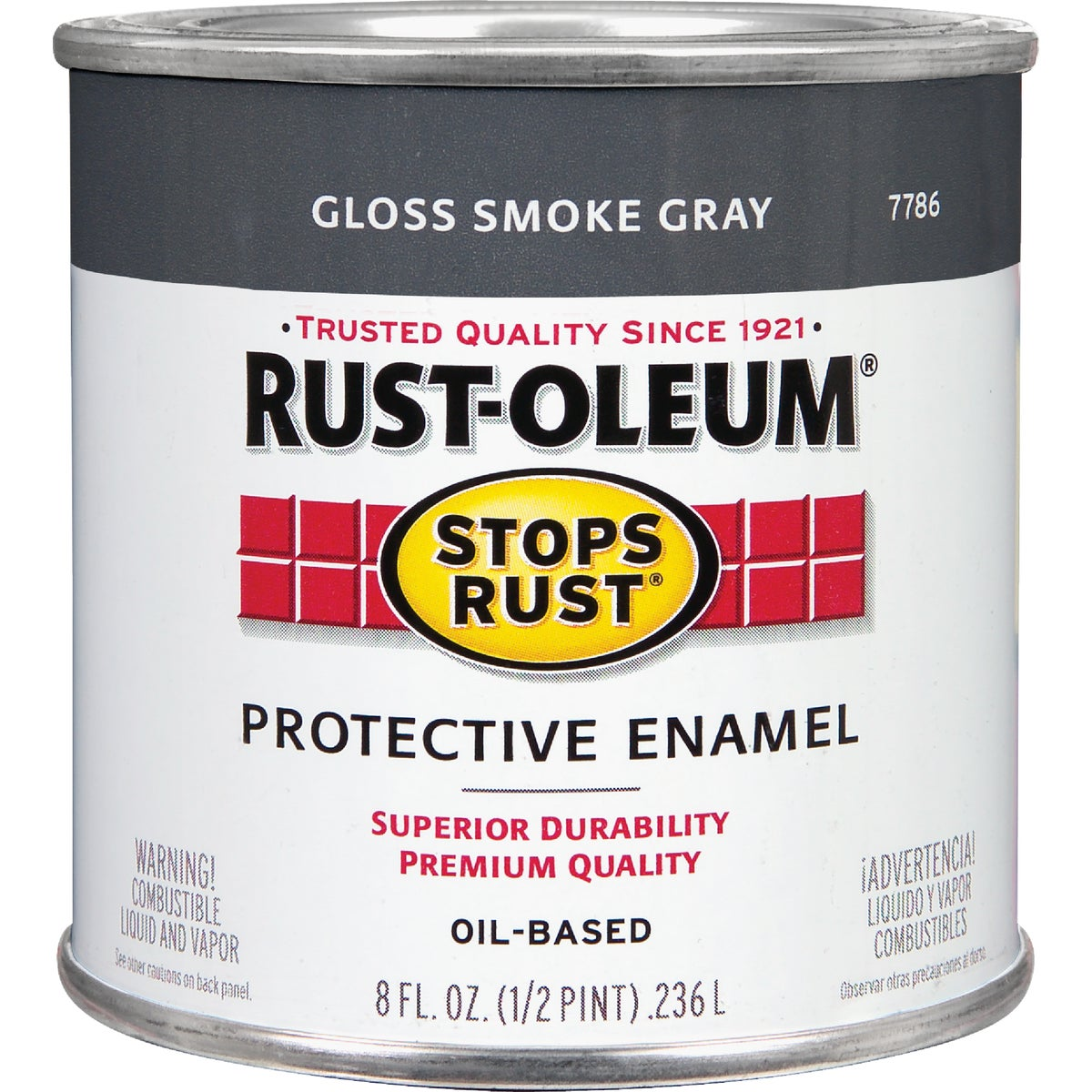 SMOKE GRAY ENAMEL - 7786-730 by Rustoleum