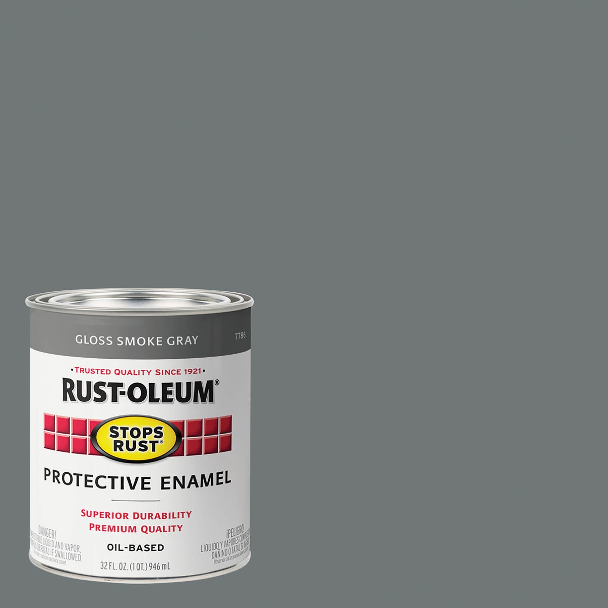 SMOKE GRAY ENAMEL - 7786-502 by Rustoleum