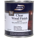 Interior Lacquer, Clear Wood Finish