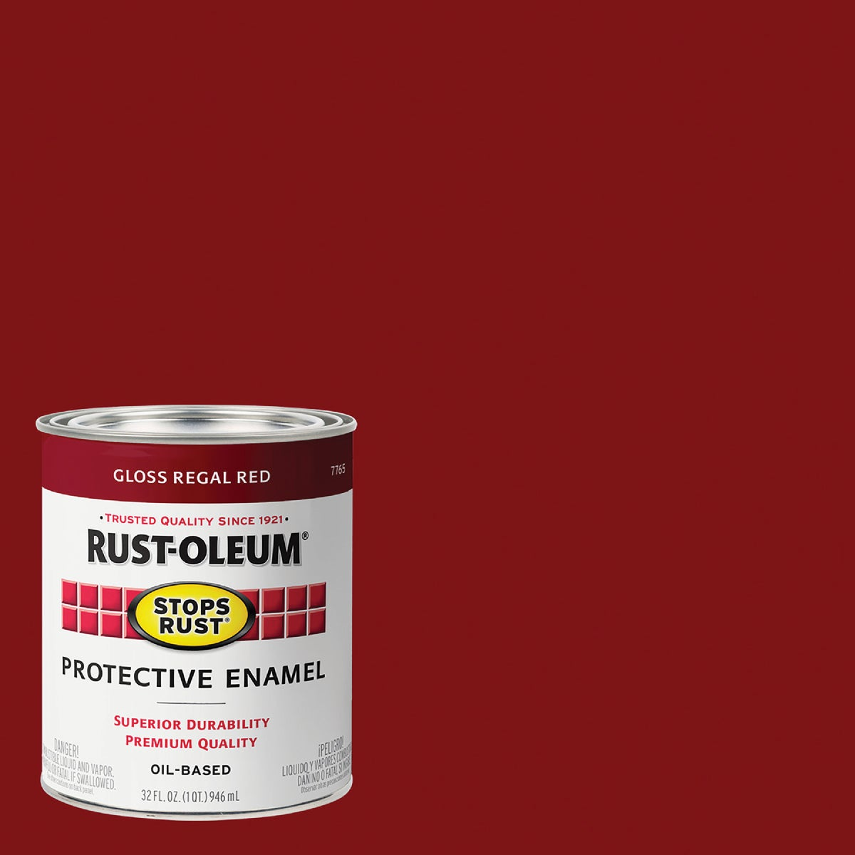 Rust Oleum REGAL RED ENAMEL 7765-502
