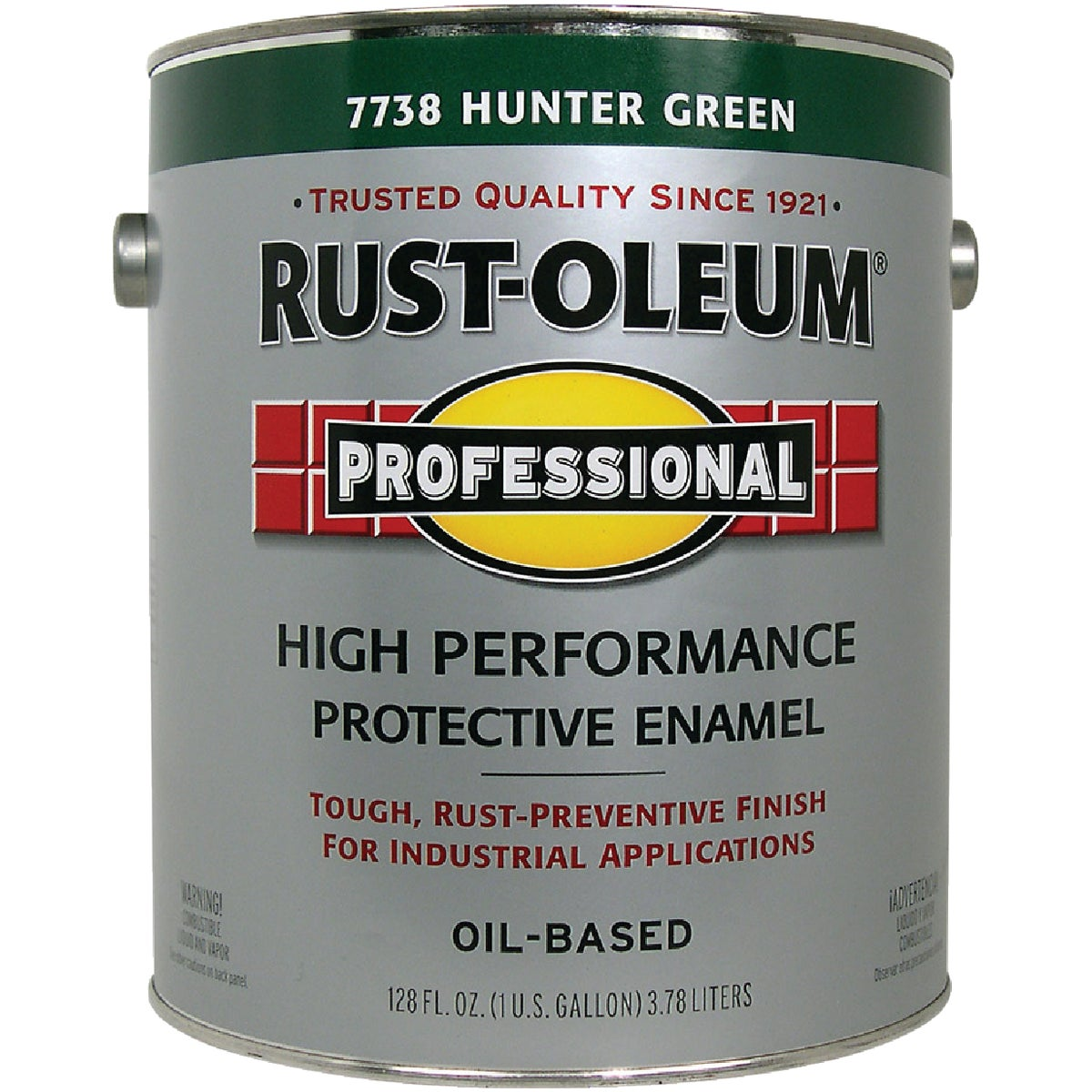 Rust Oleum HUNTER GREEN ENAMEL 7738-402