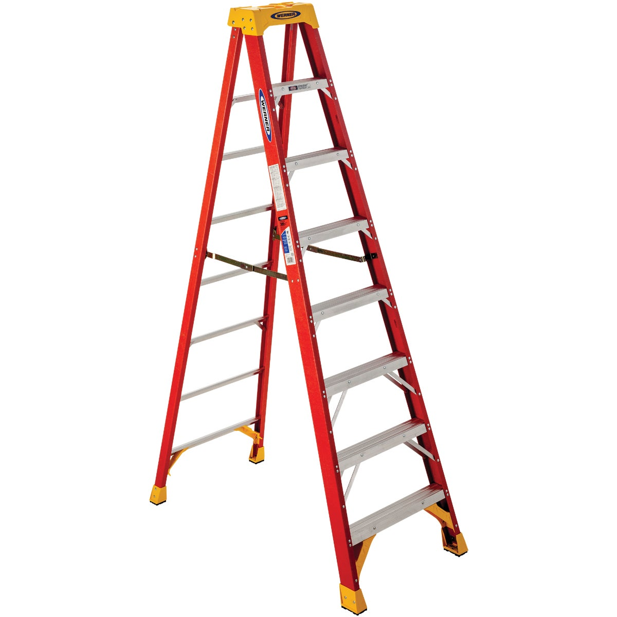T-1A 8' FBGL STEPLADDER - 6208 by Werner Co