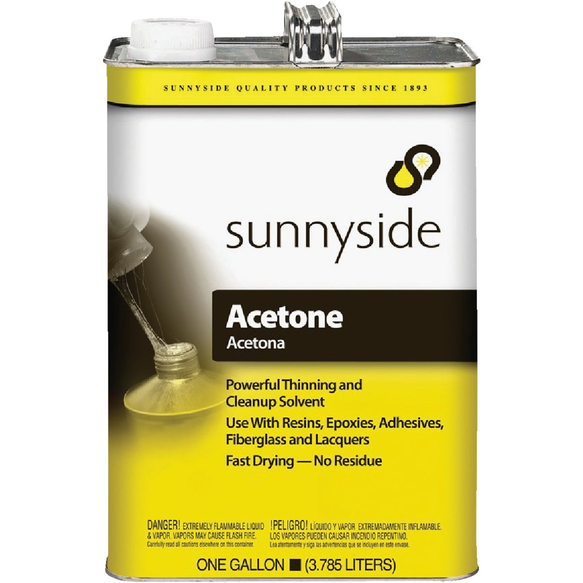 GALLON ACETONE - 840G1 by Sunnyside Corp