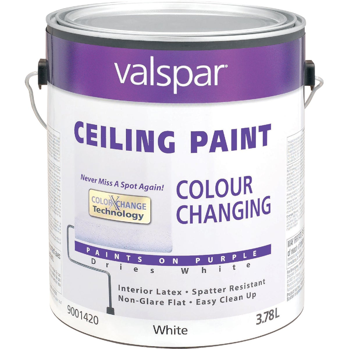 COLOR CHNG CEILING PAINT - 027.0001420.007 by Valspar Corp