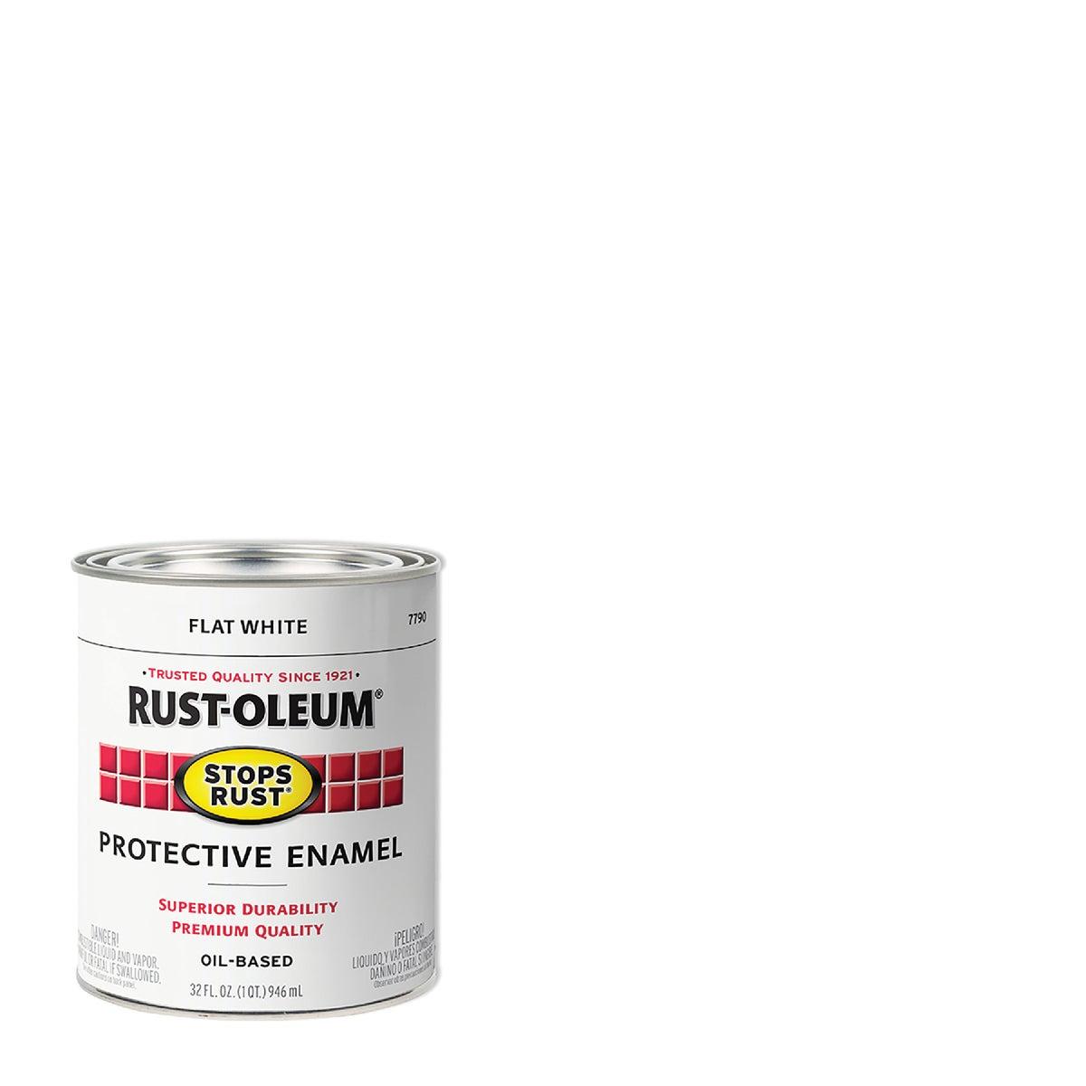 FLAT WHITE ENAMEL - 7790-502 by Rustoleum