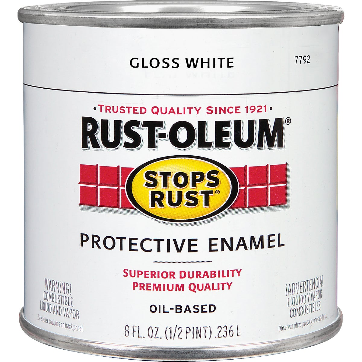WHITE ENAMEL - 7792-730 by Rustoleum