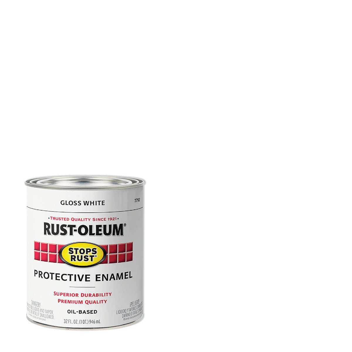 WHITE ENAMEL - 7792-504 by Rustoleum