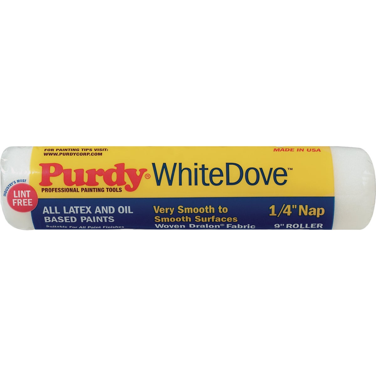 9X1/4 WHITE DOVE COVER - 144662091 by Purdy Bestt Liebco