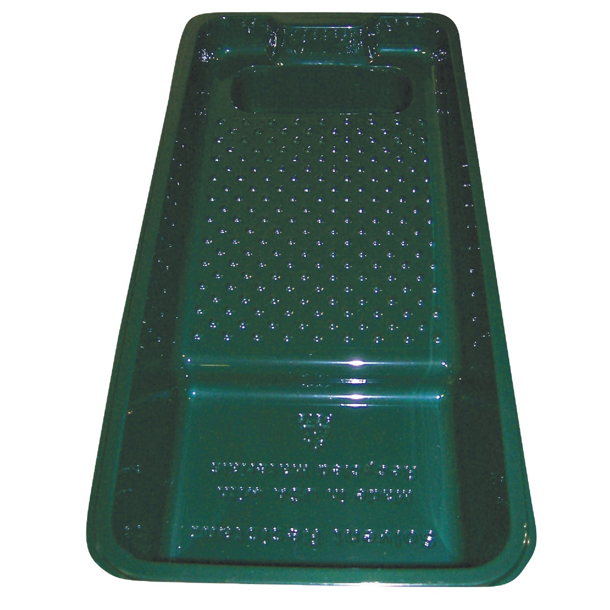 "4"" GREEN PAINT TRAY"