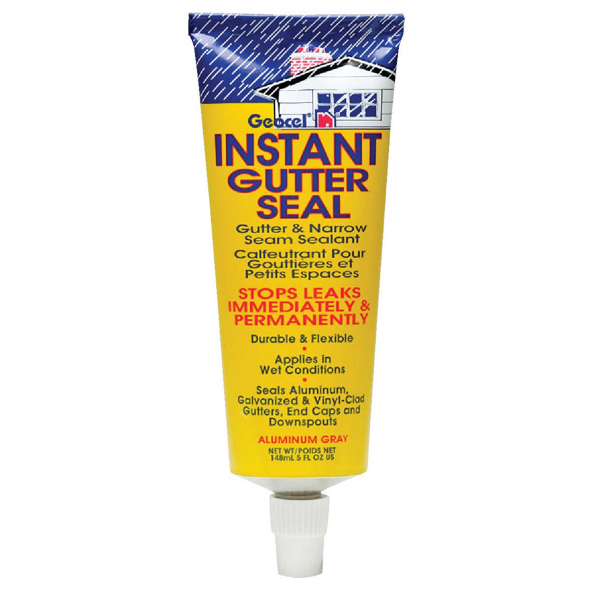 5OZ GRAY GUTTER SEALANT - GC29402 by Geocel Llc