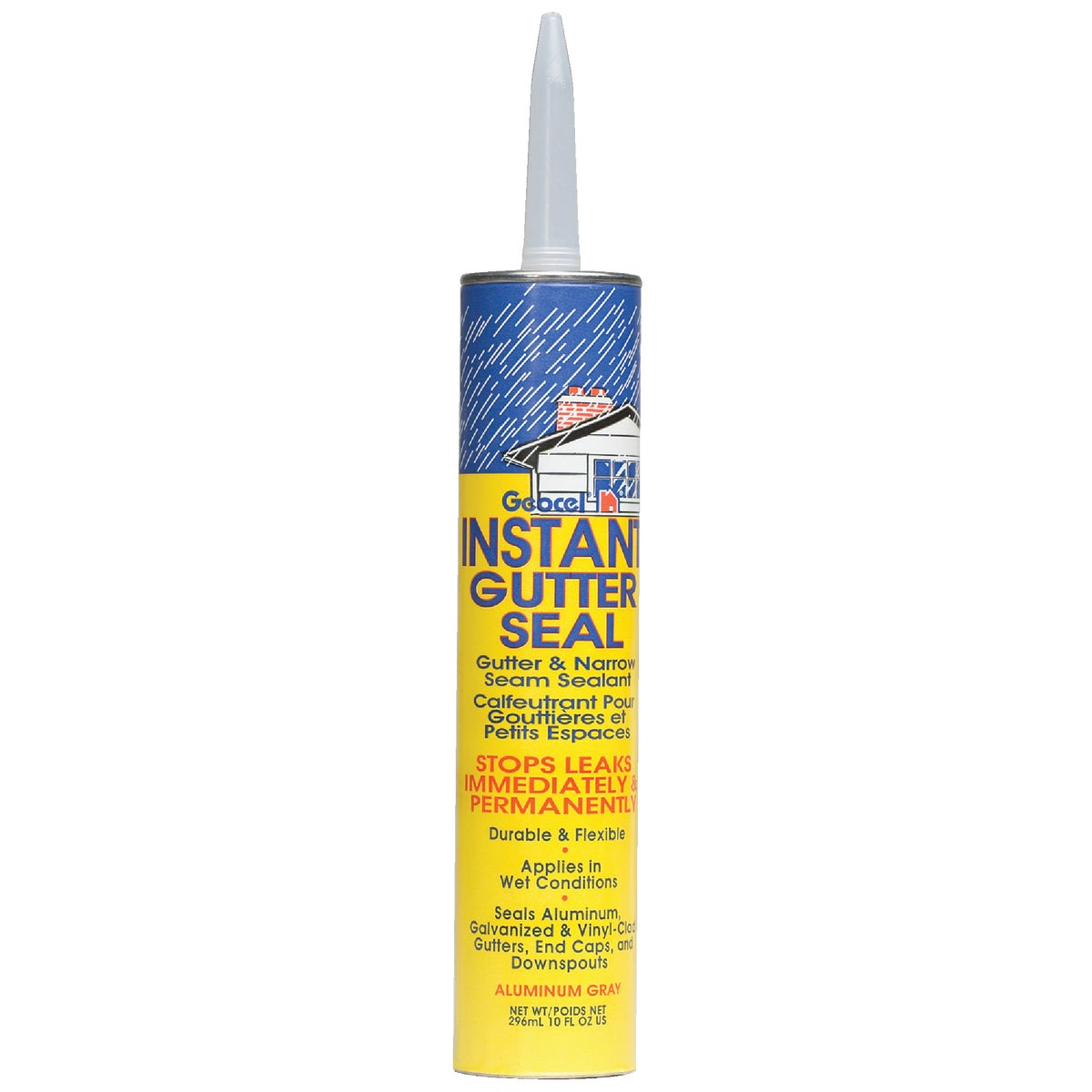 10OZ GRAY GUTTER SEALANT - GC29102 by Geocel Llc