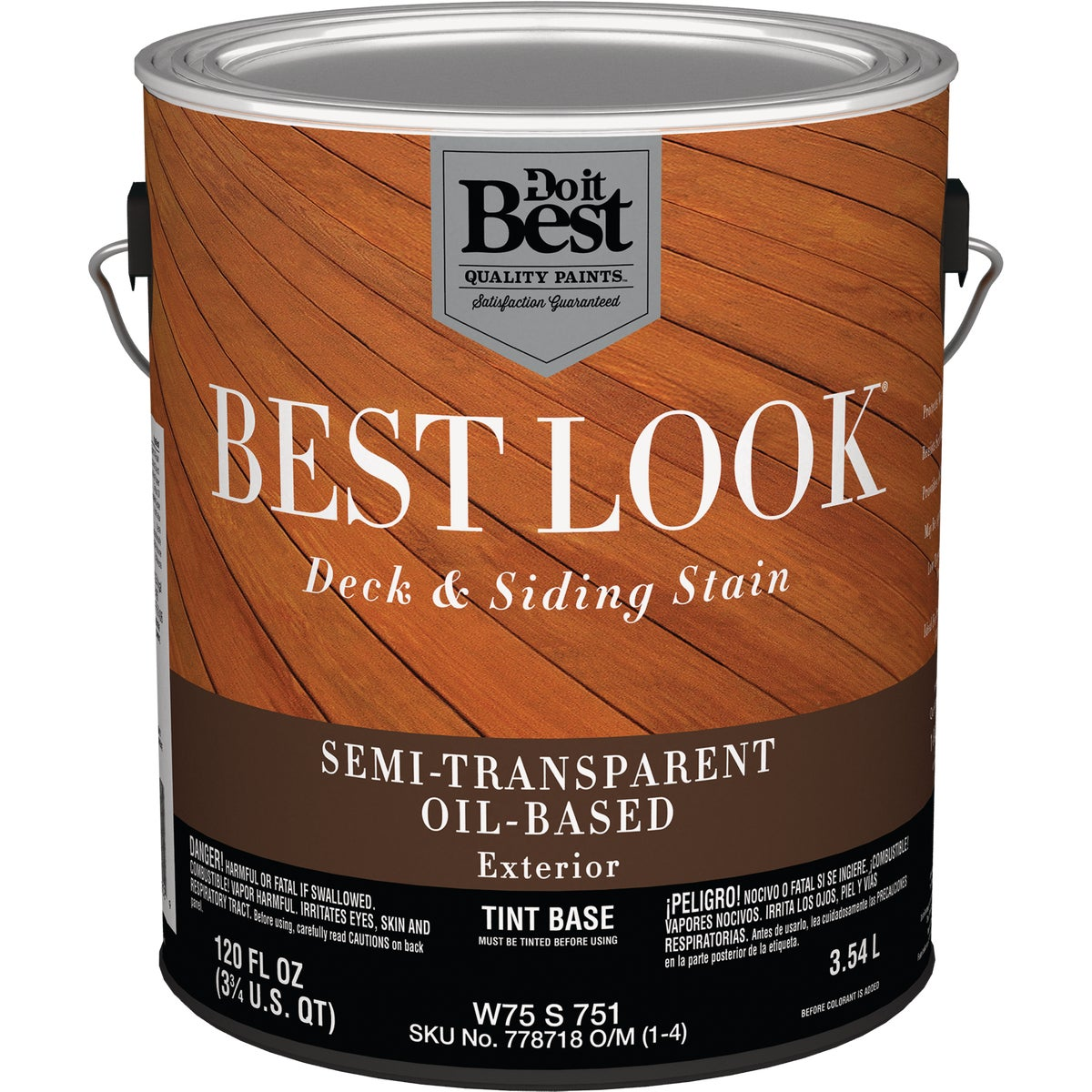 OIL TINT BASE S/T STAIN - W75S00751-16 by Do it Best