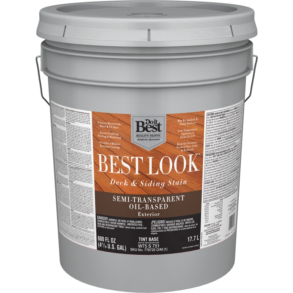OIL TINT BASE S/T STAIN - W75S00751-20 by Do it Best