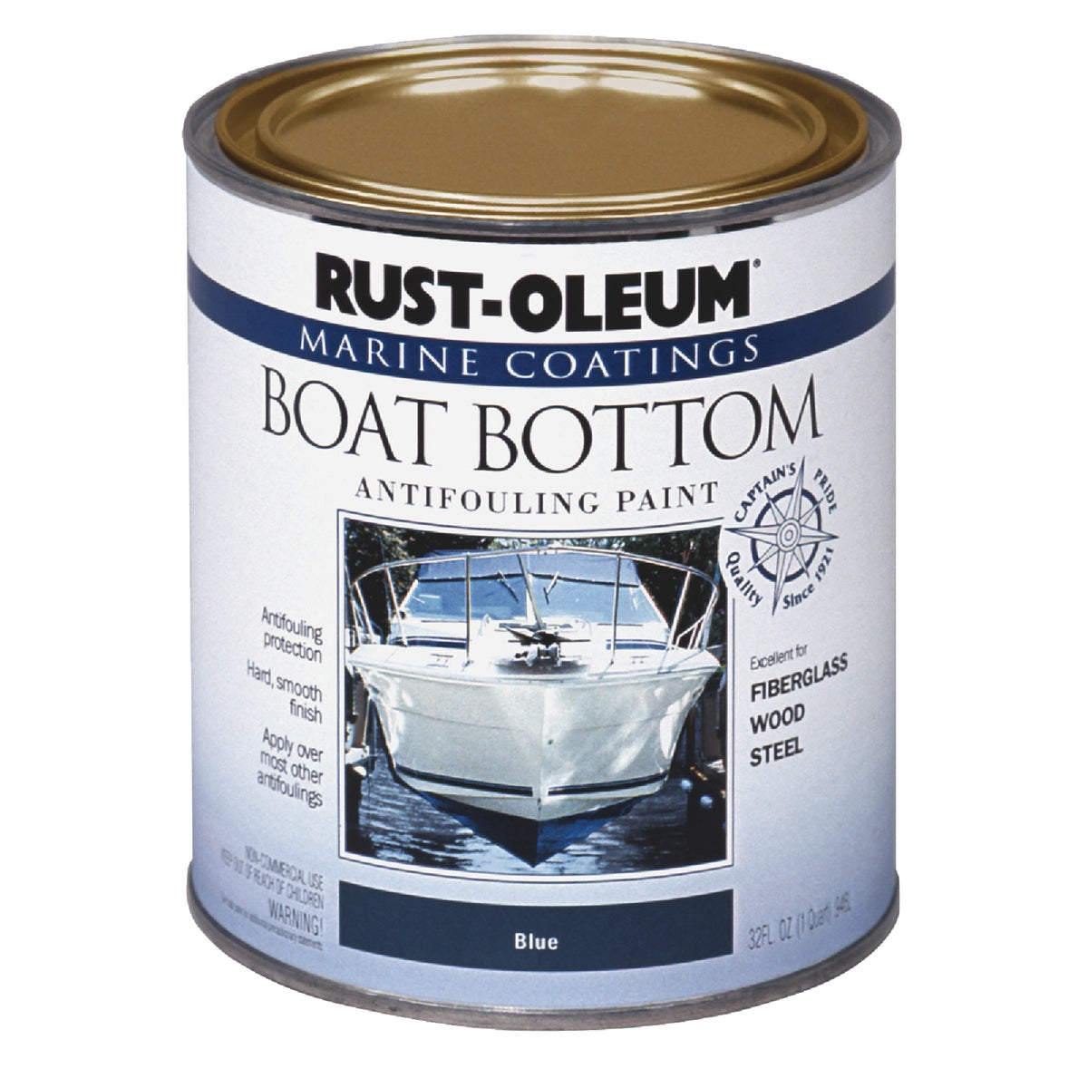 BLUE MARINE BOTTOM PAINT - 207013 by Rustoleum