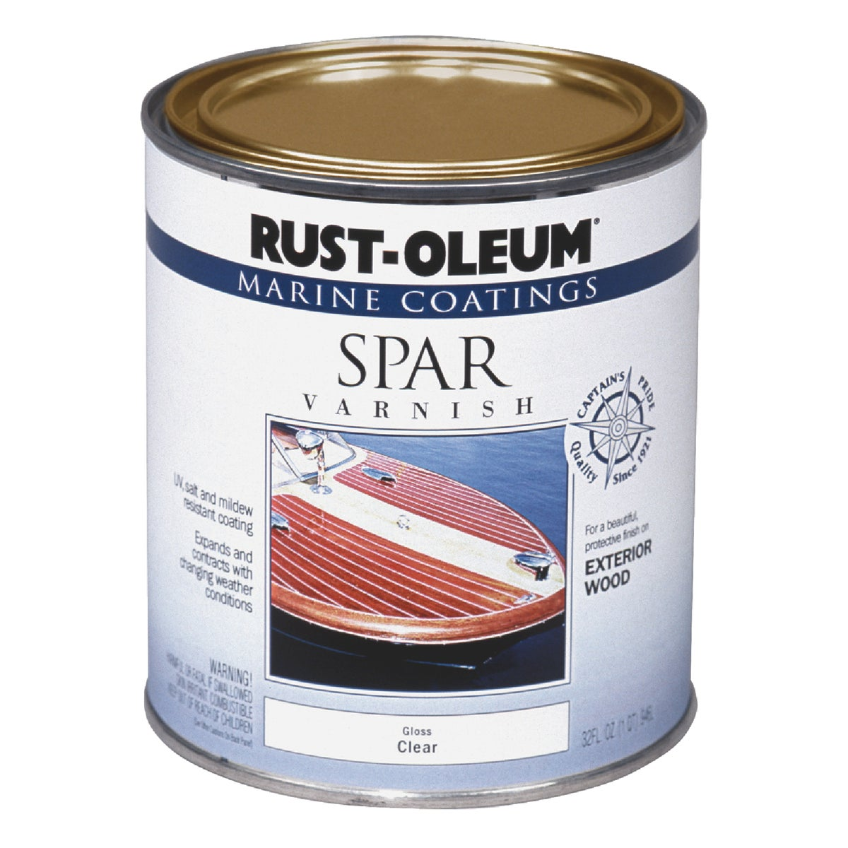 CLR MARINE SPAR VARNISH - 207008 by Rustoleum