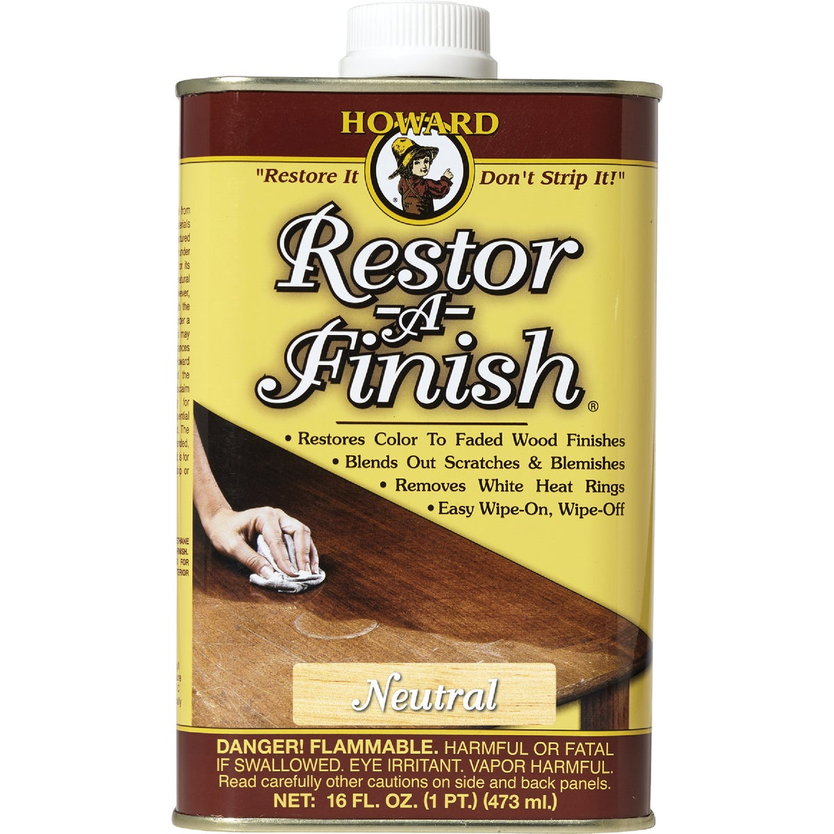 NEUTRAL RESTOR-A-FINISH - RF1016 by Howard Products