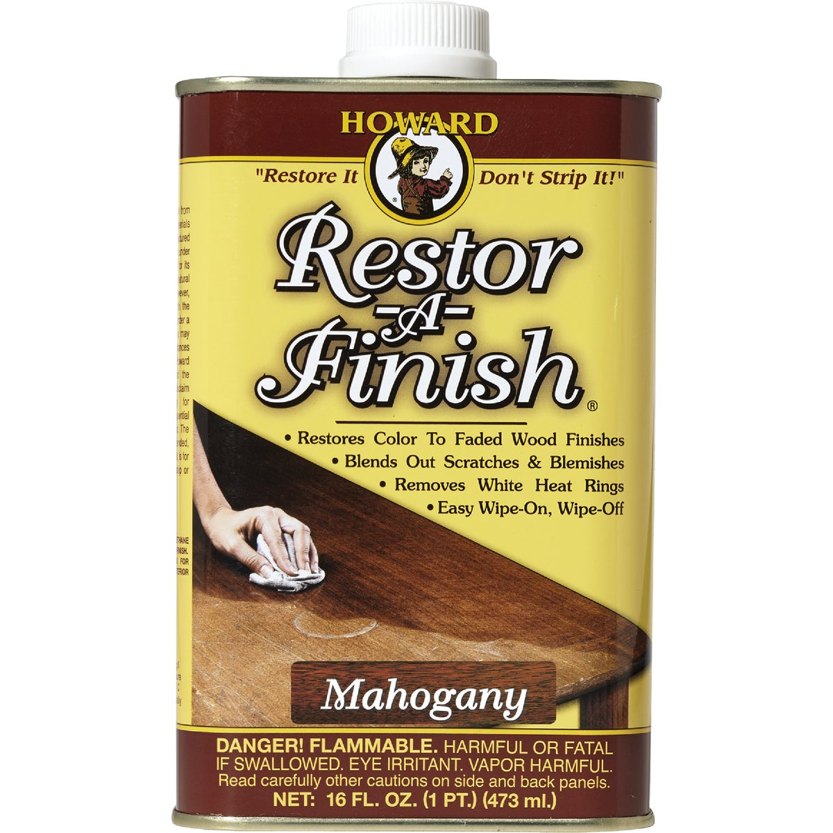 MAHOGANY RESTOR-A-FINISH - RF5016 by Howard Products