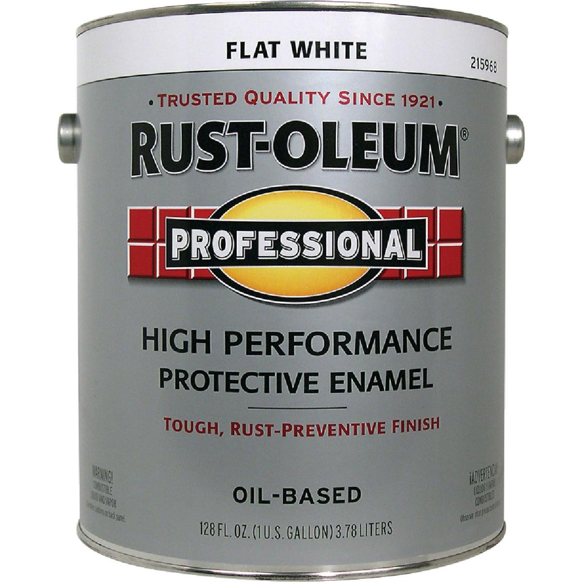VOC FLAT WHT PRO ENAMEL - 215968 by Rustoleum
